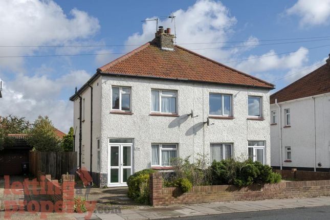 Thumbnail Semi-detached house to rent in St. Osyth Road, Clacton-On-Sea