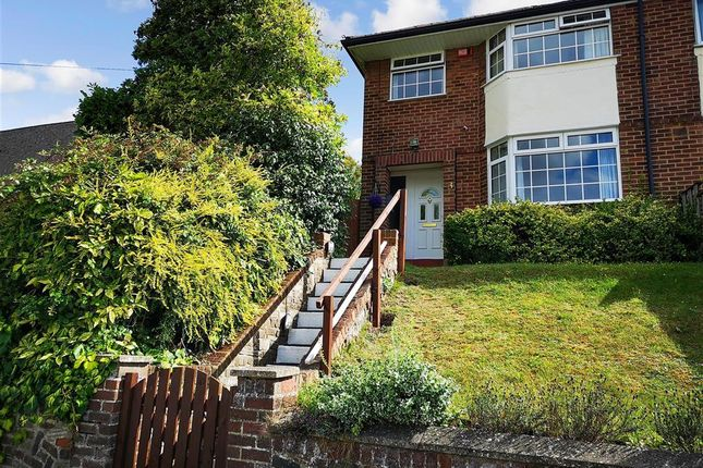 3 bed semi-detached house for sale in Wouldham Road, Borstal, Rochester, Kent ME1