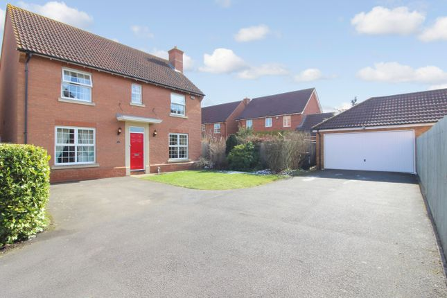 Thumbnail Detached house for sale in Arundel Close, Thrapston, Kettering