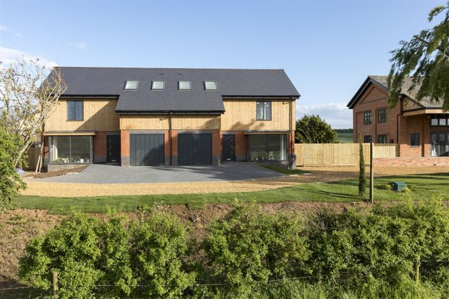 Thumbnail Semi-detached house for sale in Plot 3, The Old Station, Castle Ashby
