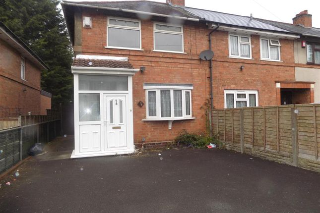 Thumbnail Property to rent in Wetherfield Road, Tyseley, Birmingham