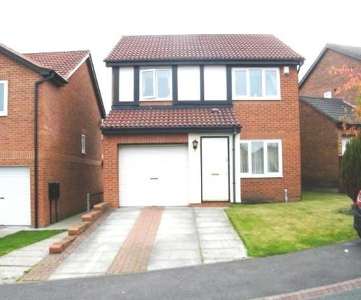 Thumbnail Detached house for sale in Hatfield Close, Framwellgate Moor, Durham, Co Durham