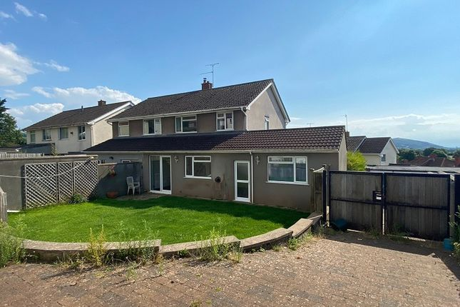 Thumbnail Semi-detached house for sale in Wimblestone Road, Winscombe, North Somerset