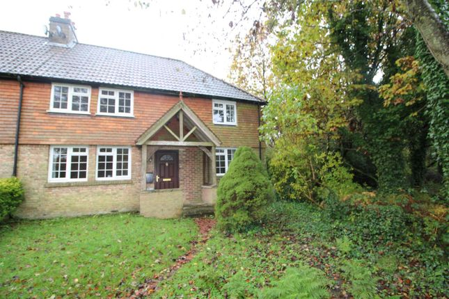 Thumbnail End terrace house to rent in Brasted Chart, Westerham