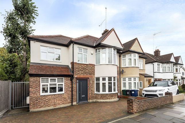 Thumbnail Semi-detached house for sale in Goldsmith Road, Friern Barnet