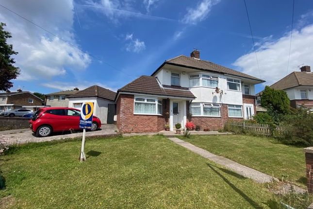 Thumbnail Semi-detached house for sale in Crossfield Road, Barry
