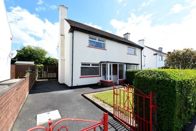 Thumbnail Semi-detached house for sale in Cherryhill Road, Dundonald, Belfast