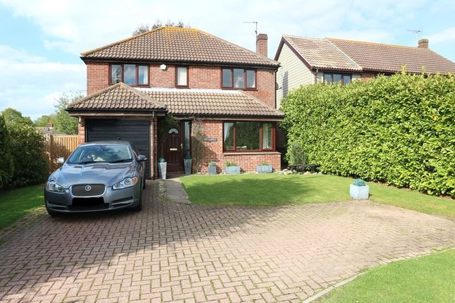 Thumbnail Detached house for sale in The Laurels Red Barn Lane, Great Oakley, Harwich