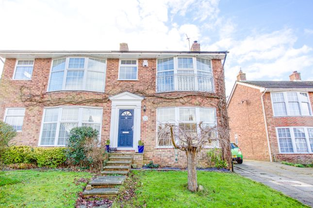 Thumbnail Semi-detached house for sale in Christie Avenue, Ringmer