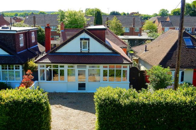 Thumbnail Detached bungalow for sale in Hamesmoor Road, Mytchett, Camberley