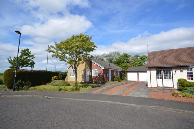 Thumbnail Detached bungalow for sale in Cheviot Grange, Burradon, Cramlington