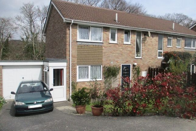 Thumbnail Semi-detached house for sale in Higher Woodside, Trewoon, St. Austell