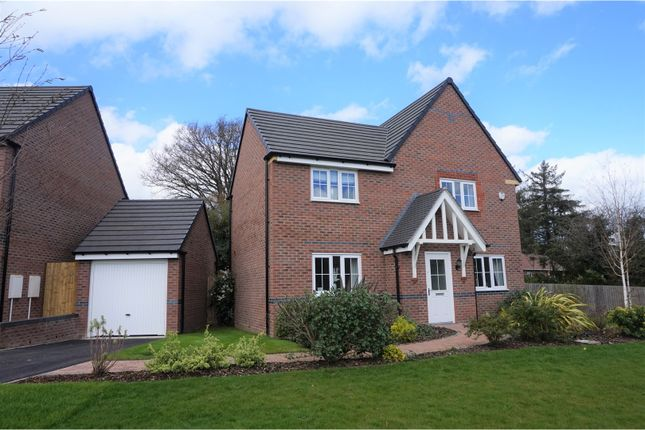 Thumbnail Detached house for sale in Red Deer Road, Shrewsbury