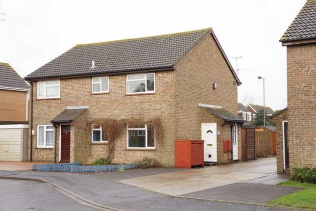 Thumbnail Semi-detached house to rent in Dibden Close, Muscliff, Bournemouth