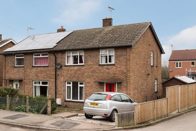 Thumbnail Semi-detached house for sale in Petersmith Drive, New Ollerton