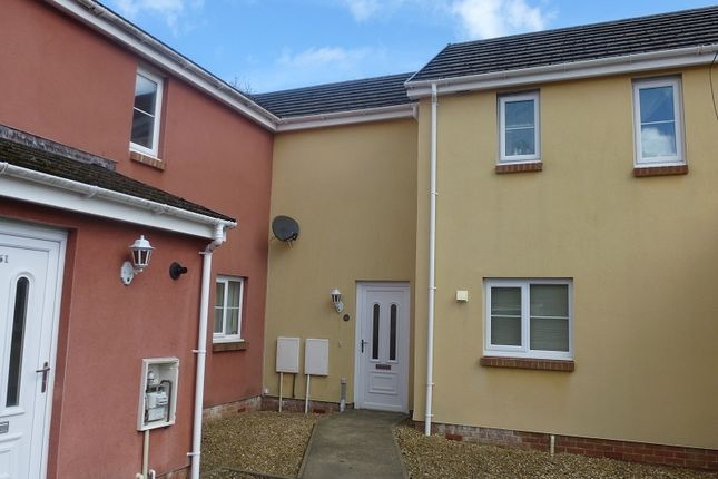 Thumbnail Terraced house for sale in Parc Gwernen, Tycroes, Ammanford, Carmarthenshire.