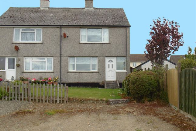 Thumbnail 2 bed semi-detached house for sale in Meadow Road, Lanreath, Looe