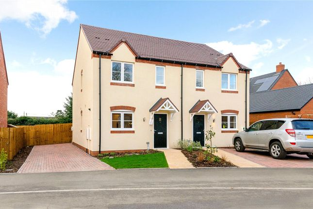 2 bed semi-detached house for sale in Fernhill Heath, Worcester, Worcestershire WR3