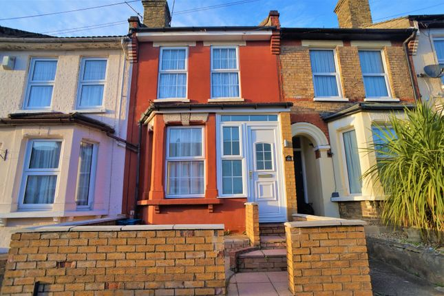 Thumbnail Terraced house to rent in Gordon Road, Rochester, Kent