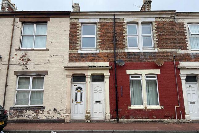 Thumbnail Flat to rent in Ripon Street, Gateshead