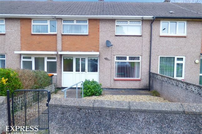 Thumbnail Terraced house for sale in Monnow Way, Bettws, Newport