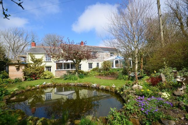Thumbnail Farmhouse for sale in Wheal Rose, Scorrier, Redruth