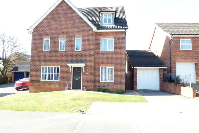 Thumbnail Property for sale in Dodsley Way, Clipstone Village, Mansfield