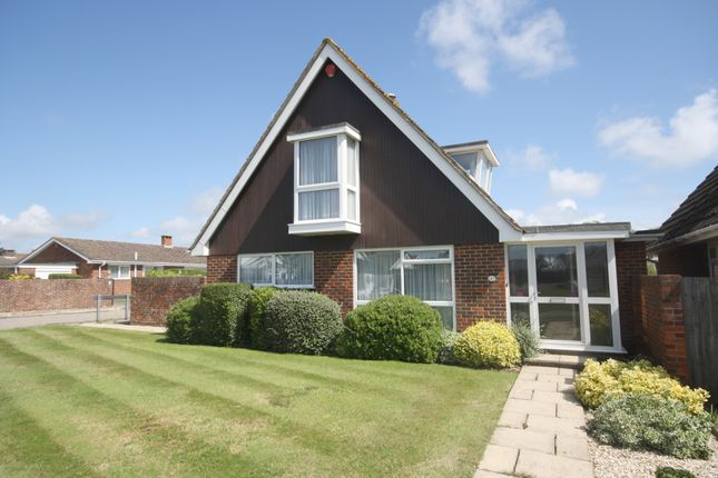 Thumbnail Detached bungalow for sale in Wolsey Way, Milford On Sea
