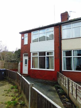 Thumbnail End terrace house for sale in Bethel Avenue, Failsworth, Manchester