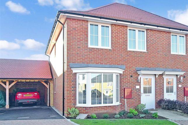 3 bedroom semi-detached house for sale in Harrison Road, Aylesham, Canterbury, Kent
