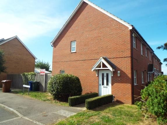 Thumbnail End terrace house for sale in Rowan Close, Ambrosden, Bicester, Oxfordshire