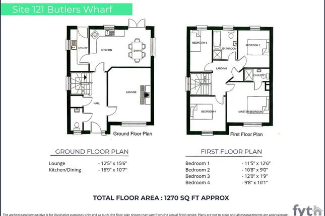 121 Floor Plan of 121 Butlers Wharf, Derry BT47