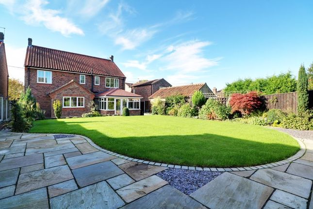 Thumbnail Detached house for sale in Low Road, Worlaby, Brigg