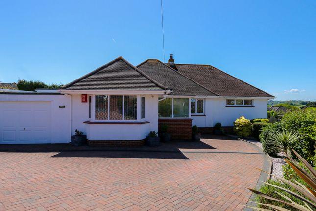 Thumbnail Detached bungalow for sale in St. Lukes Close, Newton Abbot