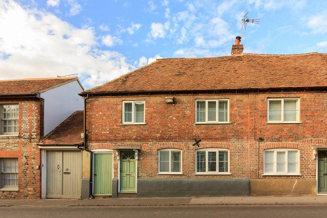 Thumbnail End terrace house for sale in High Street, Nettlebed, Henley-On-Thames