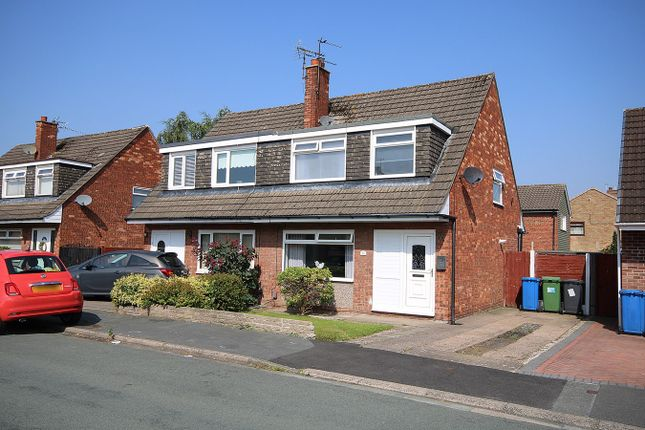 Thumbnail Semi-detached house for sale in Kintore Drive, Great Sankey, Warrington