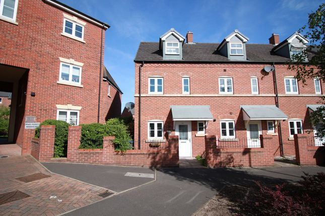 Thumbnail End terrace house for sale in Brewers Square, Edgbaston, Birmingham