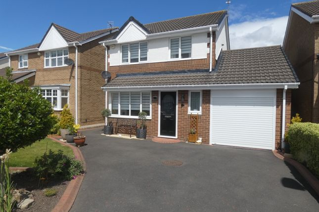Thumbnail Detached house for sale in Oakfield Way, Seghill, Northumberland