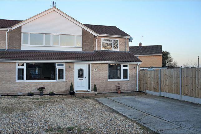 Thumbnail Semi-detached house for sale in Corfe Road, Melksham
