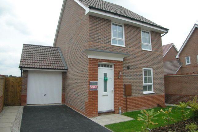 Thumbnail Detached house to rent in 15 Bridon Close, Retford