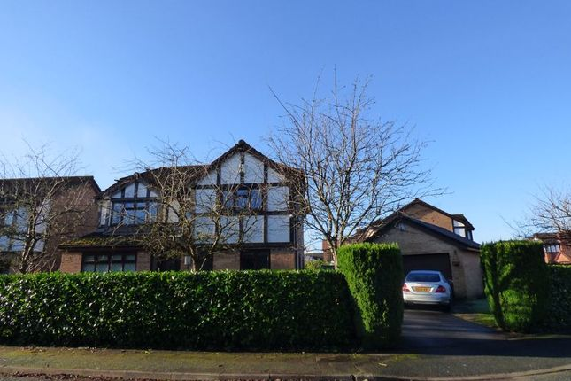 Thumbnail Detached house for sale in Norbreck Close, Great Sankey, Warrington