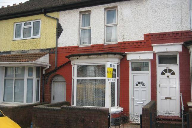 Thumbnail Terraced house to rent in Tew Park Road, Handsworth, Birmingham