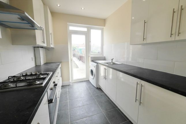 Thumbnail Terraced house to rent in Ryefield Avenue, Hillingdon, Uxbridge