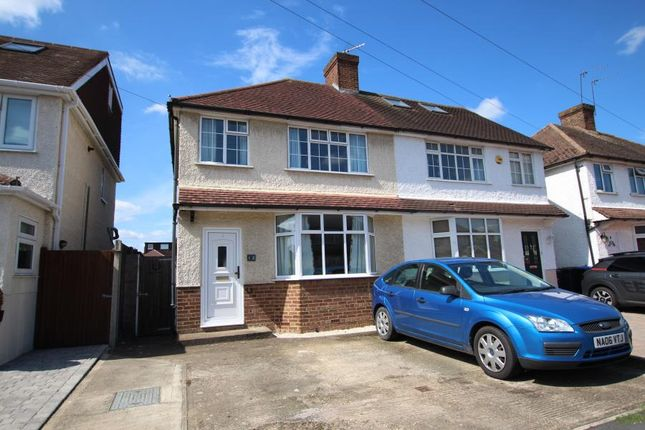 Thumbnail Detached house to rent in Tennyson Road, Addlestone