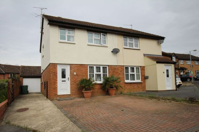 Thumbnail Semi-detached house to rent in Fitzwarren Close, Chippenham