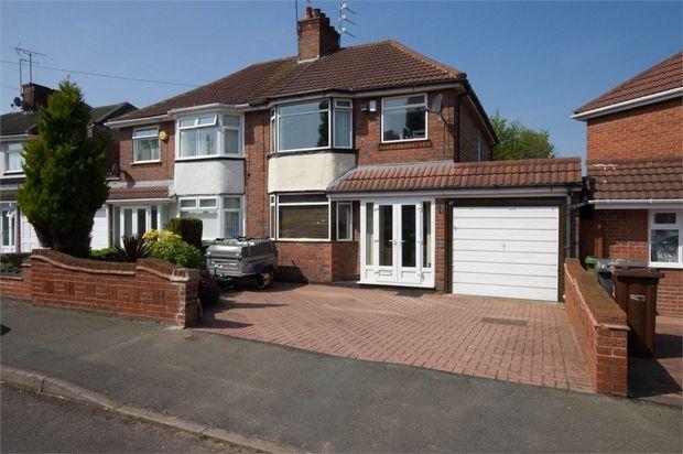 Thumbnail Semi-detached house for sale in Cadman Crescent, Fallings Park, Wolverhampton, West Midlands
