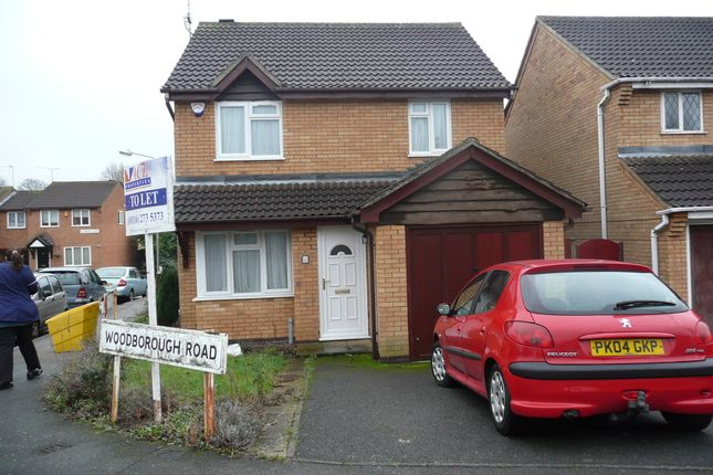 Thumbnail Terraced house to rent in Woodborough Road, Rowlatts Hill, Leicester