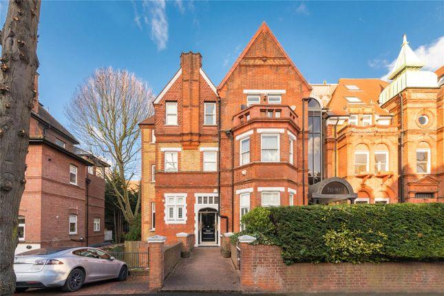 Exterior of Eton Avenue, Belsize Park, London NW3