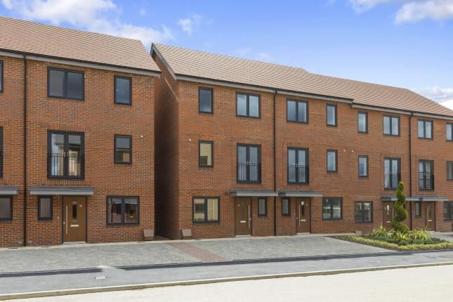 Thumbnail End terrace house for sale in The Middleton, Reading Gateway, Imperial Way, Reading, Berkshire