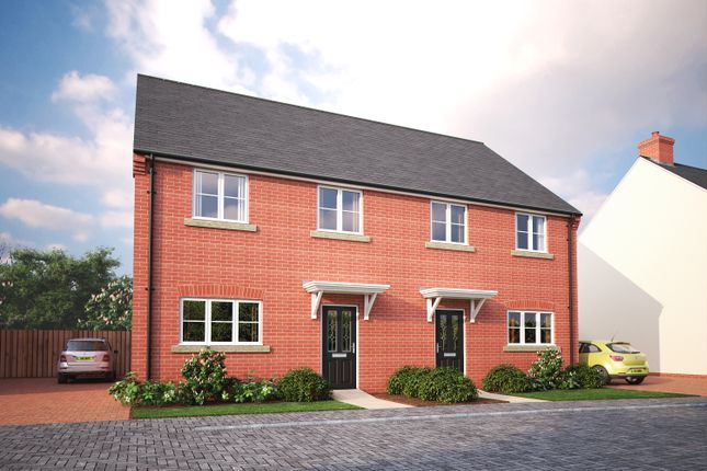 Thumbnail Semi-detached house for sale in Plot 17, South Paddock, 56 Herberts Meadow, Clifton, Beds